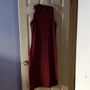 Old Navy NWT high collar form fitting dress